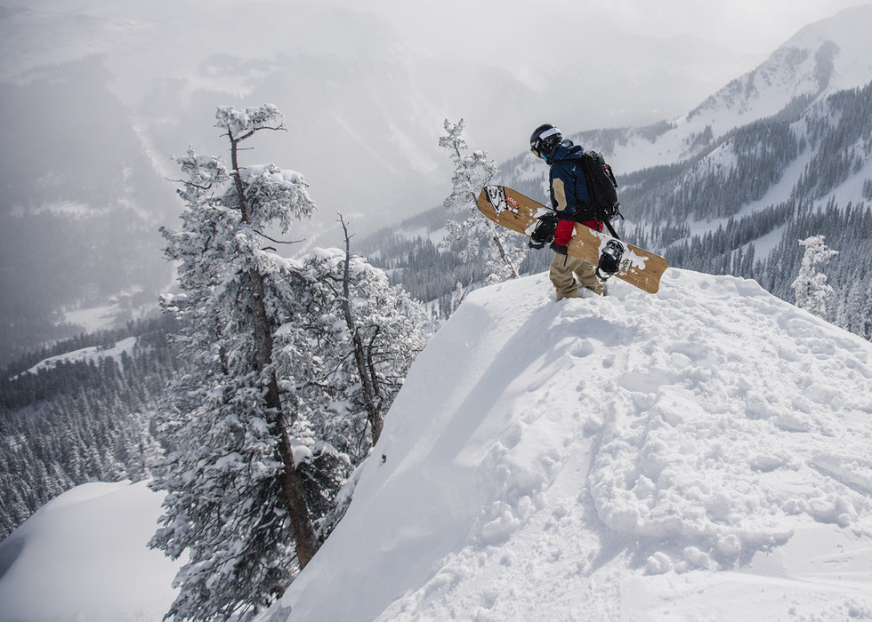 Taos: a four-letter word for steep. - © Grayson Schaffer