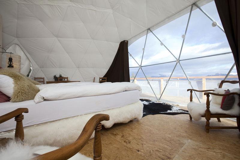 Whitepod Hotel, Les Cerniers, Switzerland - ©Whitepod