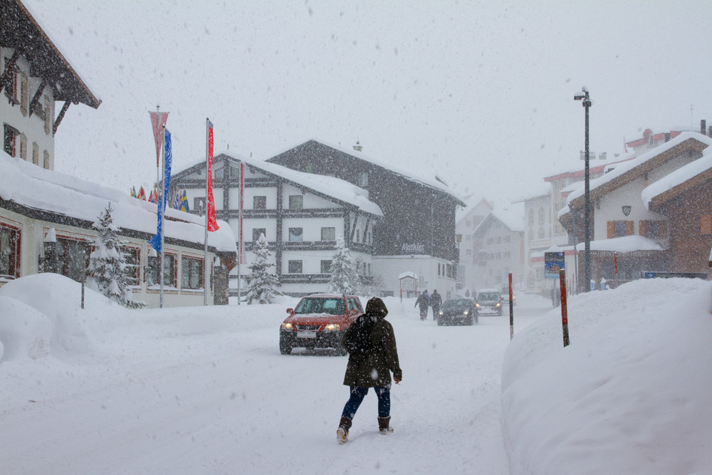 Zürs, Østerrike 14.1.17