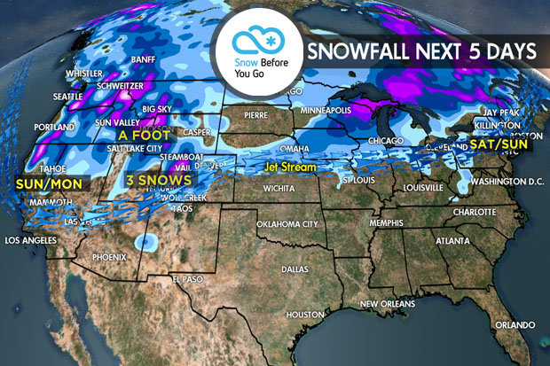 2.23 Snow Before You Go: Three Storms Target West - © Meteorologist Chris Tomer