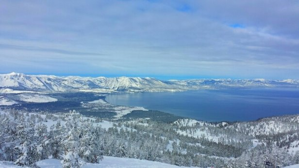 Heavenly Mountain Resort - January we got the most snow ever in a month in Lake Tahoe. - © joeskifast