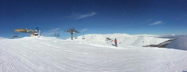 Campo Felice - Rocca di Cambio - giornata a dir poco straordinaria... neve perfetta. - © ale verra