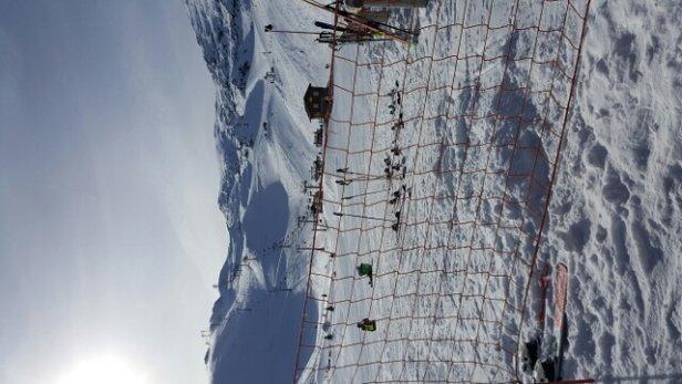 Les 2 Alpes - journée au top. .soleil et neige fraîche !!même si c'est en petite quantité !! - © soco7r