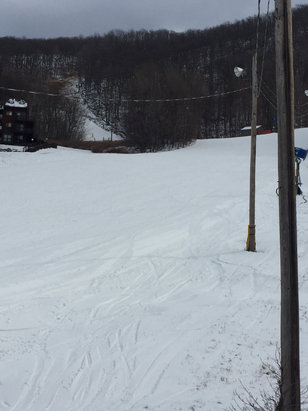 Mountain Creek Resort - Grate day !!! Much better than last week!!!  Making snow tonight!!! - © Depor
