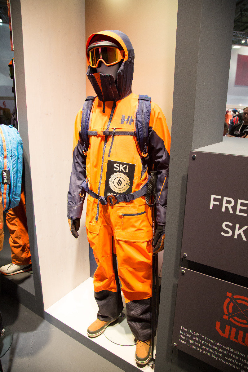 ISPO 2017 : Sur le stand Helly Hansen - ©Skiinfo