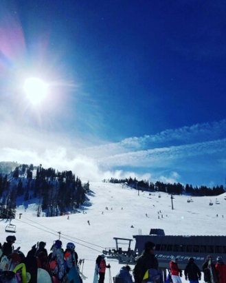 Mammoth Mountain Ski Area - great amount of snow - ©anonymous