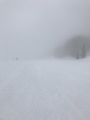 Park City - Got a tad foggy at day's end,  no? - © stephen's iPhone