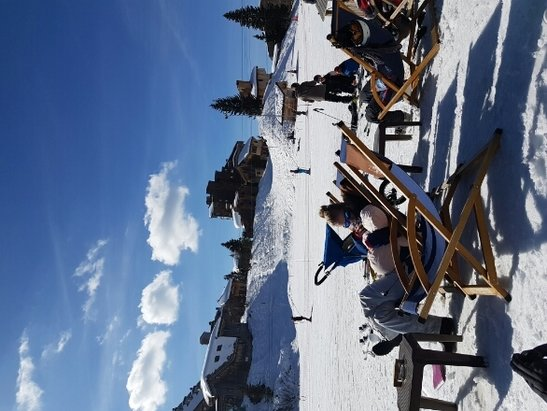 Morzine - happy days sun's out  - © anonymous