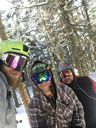 Gore Mountain - skied are buts off  7 straight hours off tree's , moguls deep power and high speed vertical im still trying to get the smile off my face thanks Gore - © louswood