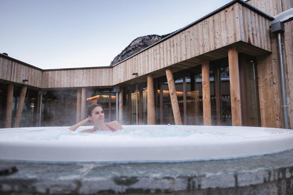 Moment de détente au centre aqualudique de Pralognan la Vanoise - © Semaphore / Office de tourisme de Pralognan la Vanoise