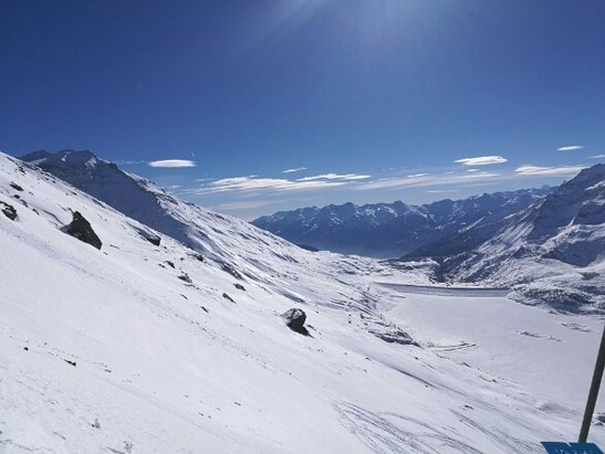 Val Cenis - Bonnes conditions. beaucoup d'anglais qui font tomber les gens... - © anonyme