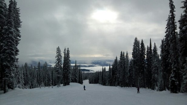 SilverStar - Had great powder yesterday  - © Leah S