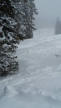Winter Park Resort - It's ok today, having a lil' pillow talk with my pow! - © Lil' robbie fedders