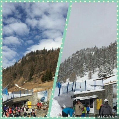 Courmayeur - went from this to this mon/weds - © savage3000