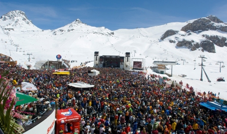Ischgl's Top of the Mountain Concert