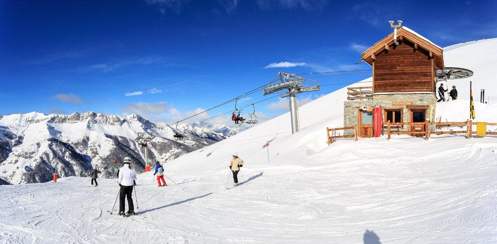Encore une très belle journée de ski en perspective sur le domaine skiable de Saint Véran - © Fabrice Amoros