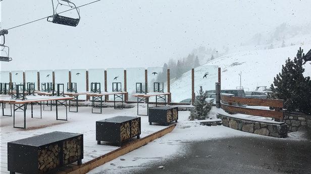 San Pellegrino - Falcade - 10 cm di neve ...... - © iPhone di marco