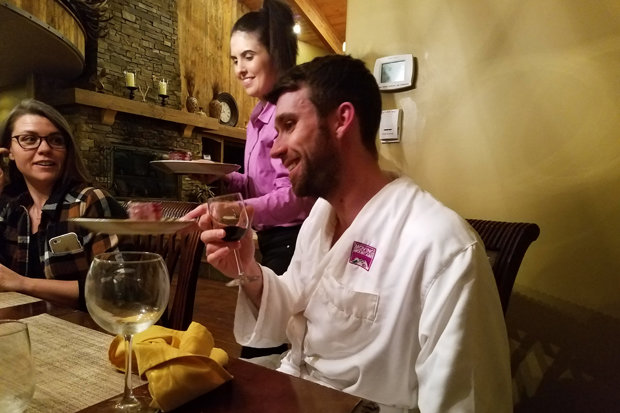 When the cooking and cleaning is taken care of, you earn back time to spend with friends and family, elevating your après game. - ©Heather B. Fried