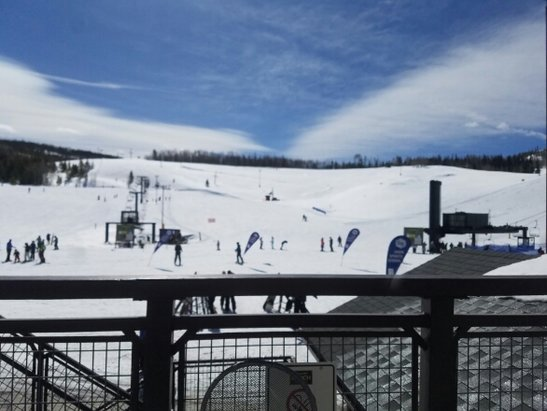 Ski Granby Ranch - Another Bluebird day, very warm, good snow cover, and no lines. The last day before the spring break crowd arrives  - © anonymous