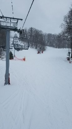 Bear Creek Mountain Resort - Good best day of the season. Fresh snow. No lines.  - © ChoochCharlie