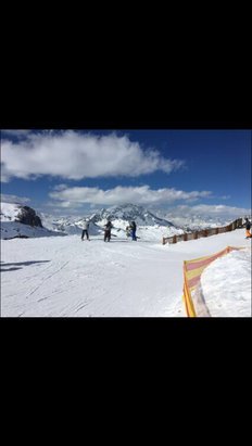 Tignes - The Grande Motte 17/3/17 - © Susan's iPhone