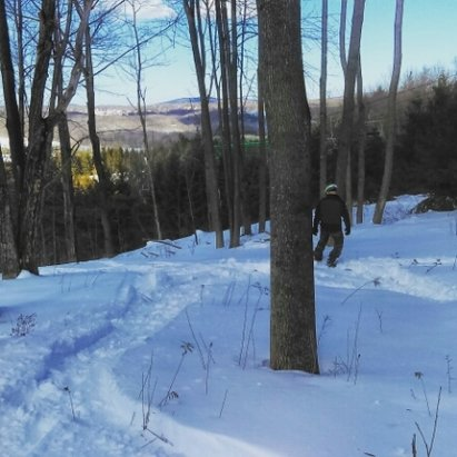 Elk Mountain Ski Resort - first time to Elk, had a blast tree skiing! Just all time conditions for March - © sneaky glades rider