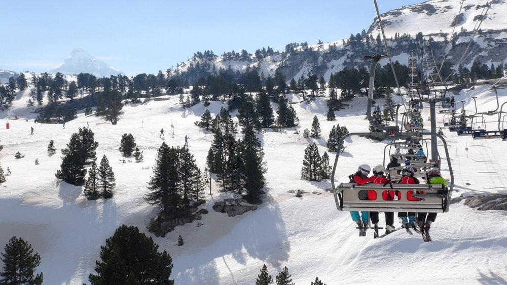 En route pour les pistes de ski de La Pierre Saint Martin - © Stéphane GIRAUD-GUIGUES / Skiinfo