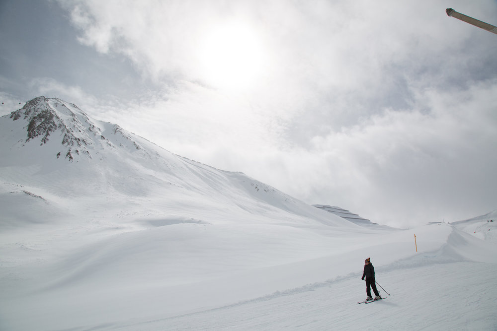 Im Skigebiet Masnerkopf in Serfaus Fiss Ladis - © Skiinfo