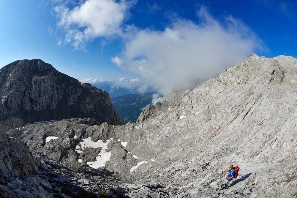 Abstieg vom Hochkönig - ©Norbert Eisele-Hein