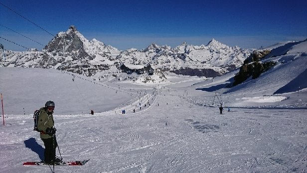 Cervinia - Breuil - Amazing views and the snow quality is fantastic.  - © anonymous