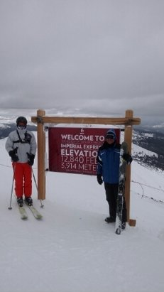 Breckenridge - Awesome day at the top of Imperial! - ©brent.pace66