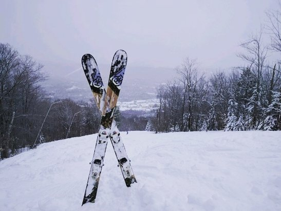 Okemo Mountain Resort - Best day in the East coast for me today. foot of powder, 0 lift lines. stay home everyone!! :)  - © anonymous
