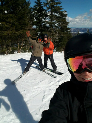 Sugarbush - Amazing conditions the last two days! - © Jeffrey's phone