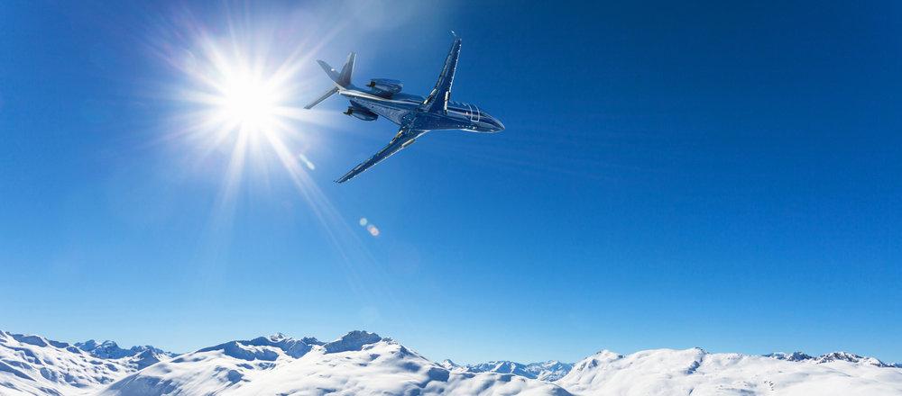 Pour les destinations ski lointaines, l'avion reste le moyen le plus rapide de rejoindre les pistes de ski... - © Silvano Rebai - Fotolia.com