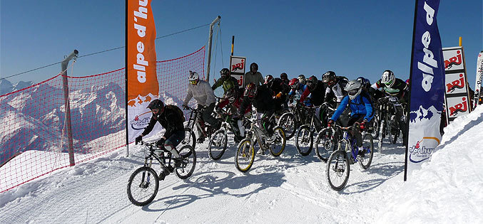 Sarenne Snow Bike (photo SATA Ski)
