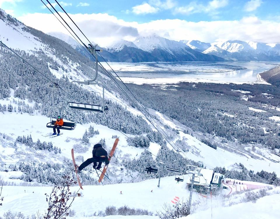 There was reason to go big at Alyeska Resort this past week. - © Alyeska Resort