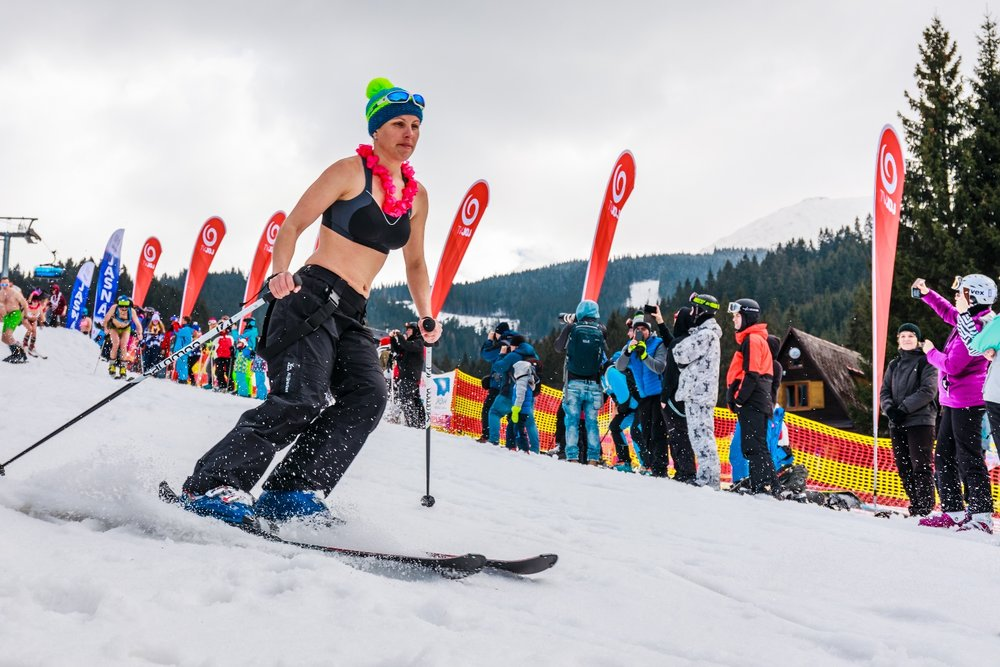 BIKINI SKIING 2017 in Jasna (Slovacchia) - ©TMR