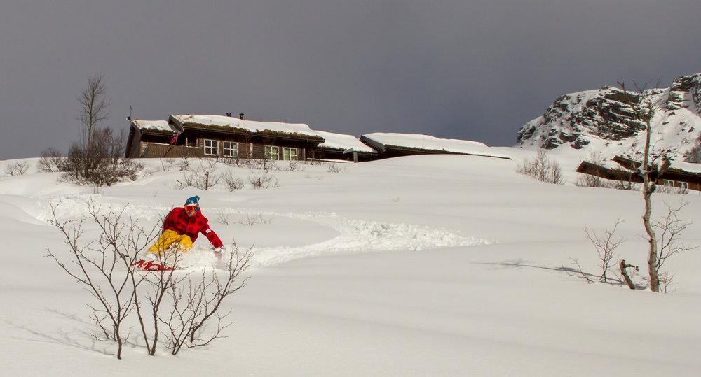 Eikedalen 18. mars 2017 - © Jan Petter Svendal