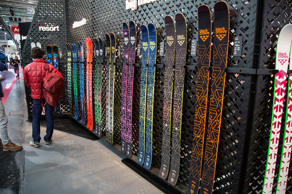 ISPO 2017: stand Black Crows - © Skiinfo