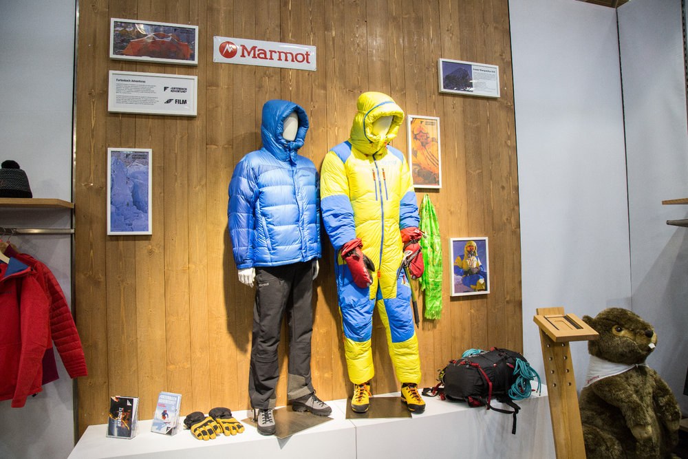 ISPO 2017 : Sur le stand Marmot - © Skiinfo