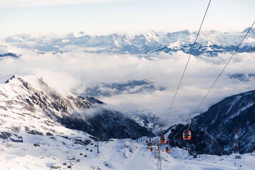Auch das Kitzsteinhorn ist vom Salzburger Flughafen schnell zu erreichen - © Kitzsteinhorn - Kaprun / facebook
