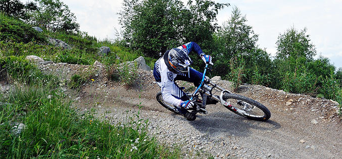 Enduro aux Arcs (photo Dimitri Plome)