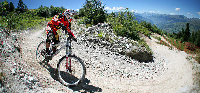 VTT les Arcs (photo Manu Reyboz)