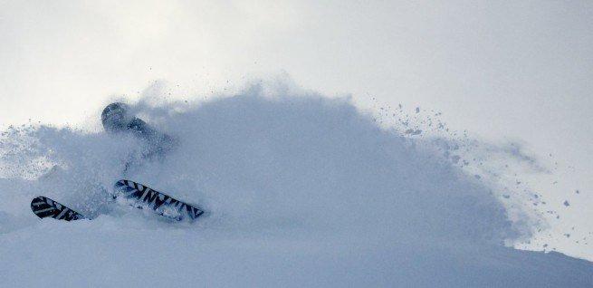 Det har kommet totalt 85 cm nysnø den siste uka på Voss. Herlige forhold! - © Voss Resort