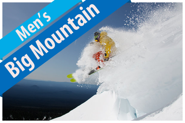 2017/2018 Men's Big Mountain Ski Buyers' Guide.