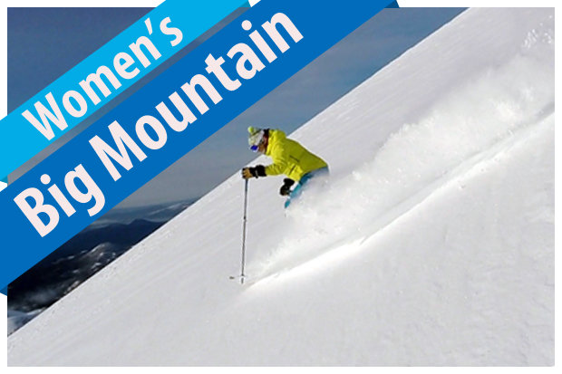 Women's Big Mountain Ski Buyers' Guide 2017/2018