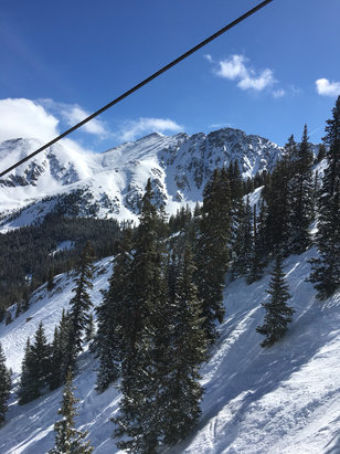 Arapahoe Basin Ski Area - Great day! East wall and Pal chair are still legit!  - © Lonewolf