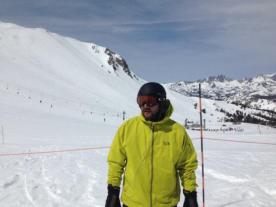 Mammoth Mountain Ski Area - Spring Snow!!  - © YEYO iPhone