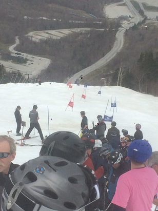 Killington Resort - May 1st slalom race !! Thanks Killington for some great prizes ! Great day  - ©iPhone