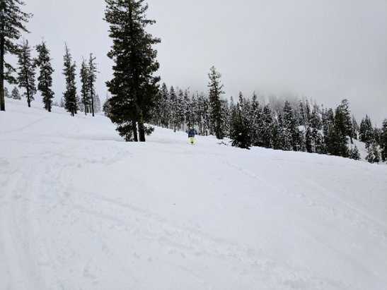 Squaw Valley - Alpine Meadows - even some powder, what can you say, it's May - © anonymous